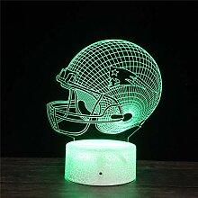 3D Illusion Lampe Optische Täuschung Lampe New