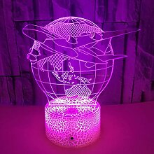 3D illusion lampe Stimmungslampe, kreatives