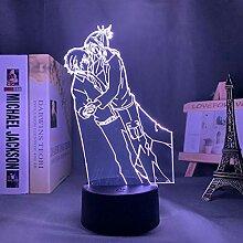 3D Illusion Lampe Tisch Stimmung Nachtlicht Für