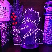 3D Illusion Lampe Tisch Stimmung Nachtlicht Mit My