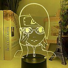 3D Illusion Lampe Tisch Stimmung Nachtlicht USB