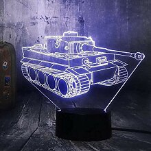 3D Illusion, Led Kleine Nacht 3D Magische Laterne