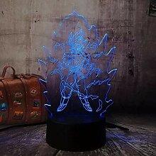 3D Illusion LED Nachtlicht Neuheit Lampe LED