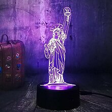 3D Illusion LED Nachtlicht Neuheit Lampe Symbol