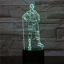 3D Illusion Licht LED Kind Nachtlicht Ghul