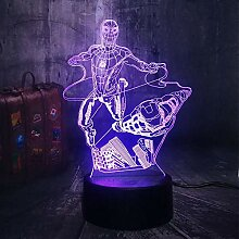 3D Illusion Light Neues 3D LED Marvel Flying
