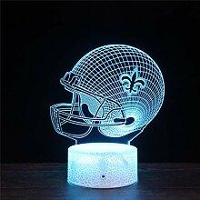 3D Illusion Nachtlicht Lampe für Kinder New