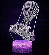 3d Illusion Nachtlicht LED Schreibtisch Tischlampe