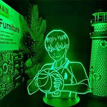 3D Illusionslampe Anime Haikyuu Kageyama Tobio