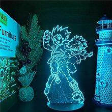 3D Illusionslampe Anime Hunter X Hunter Gon und