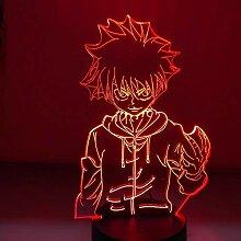 3D Illusionslampe Anime Hunter X Hunter Killua