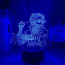 3D Illusionslampe Anime Mein Held Academia Dabi
