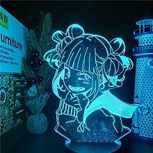 3D Illusionslampe Anime Mein Held Academia LED