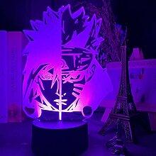 3D Illusionslampe Anime Naruto Uzumaki 3d Lampe