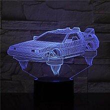 3D-Illusionslampe führte Nachtlicht zurück in
