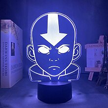 3D-Illusionslampe Led Nachtlicht Avatar Die letzte
