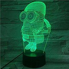 3D Illusionslampe LED Nachtlicht Einzigartige