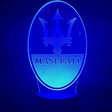 3D Illusionslampe Modell LED