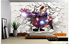 3D Iron Man Wallpaper Heroes Fototapete