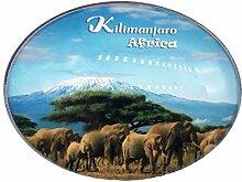3D Kilimanjaro Tansania Kühlschrank