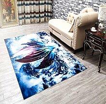 3D Kinder Cartoon Teppich Matratze Wohnzimmer Schlafzimmer Küche Bad rutschfeste Matten 160X240CM , 4