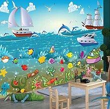 3D Kinderzimmer-Tapete mit