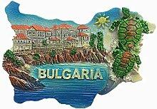 3D-Kühlschrankmagnet, Bulgarien, Reise-Souvenir,