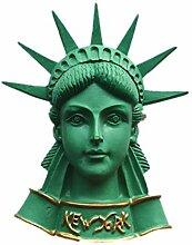 3D-Kühlschrankmagnet, Freiheitsstatue, New York,