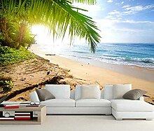 3D Küste Wellen Meer Sand Strand natürliche