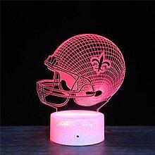 3D-Lampe, 3D-Optische Täuschung, intelligentes