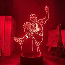 3D Lampe Anime Ace of Diamond Sawamura Licht für
