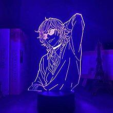 3D Lampe Anime Acryl Yarichin Hündin Club Yuri