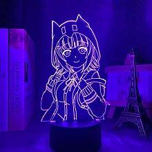 3D Lampe Anime Danganronpa Chiaki Nanami LED