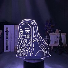 3D Lampe Anime Demon Slayer Kamado Nezuko LED
