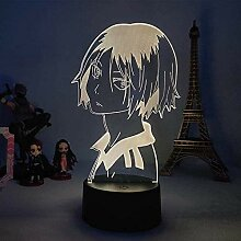 3D Lampe Anime Haikyuu Kenma Kozume LED Nachtlicht