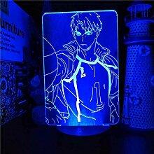 3D Lampe Anime Haikyuu Wakatoshi Ushijima Led