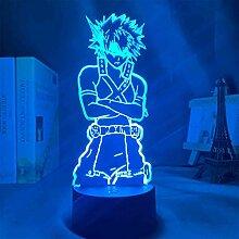 3D-Lampe aus Acryl, Anime My Hero Academia Dabi,