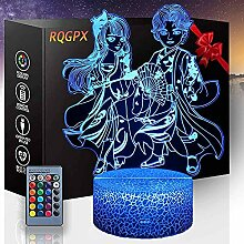 3D-Lampe Illusion Anime B Touch Switch Tischlampe