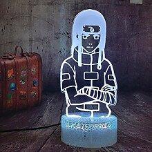 3D Lampe Illusion Anime Naruto LED Nachtlicht
