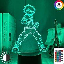 3D Lampe Izuku Midoriya Figur Kinder Schlafzimmer