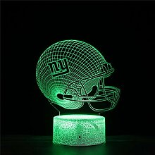 3D-Lampe, LED-Beleuchtung, USB, New York, riesige
