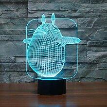 3D Lampe Led Nachtlichter Usb Schreibtisch