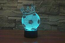 3D-Lampe, USB, 7 Farben, erstaunliche optische