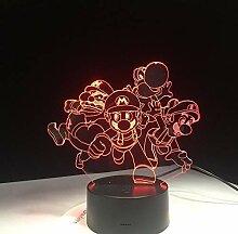 3D Lampe USB Acryl Super Geschenk für n Baby