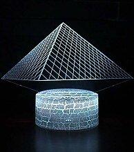 3D LED Hologramm Visuelle Illusion Pyramide