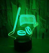 3D LED Illusionslampe Nachtlicht