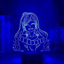 3D Led Nachtlicht Illusion Lampe Usb Anime Jungen