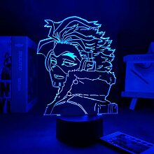 3D LED Nachtlicht Lampe Anime Hawks 3d Lampe My