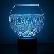 3D Led Nachtlicht Neuheit Visuelle Usb Tischlampe