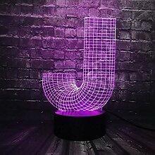 3D-Licht 3D-Lampe Nachtlicht 3D-Nachtlicht